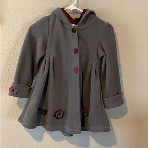 🧸Girls Fleece Swing Coat